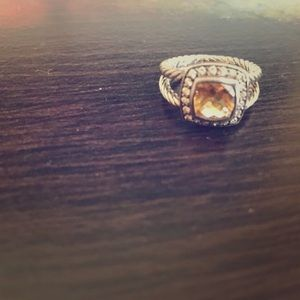 Size 5 David Yurman Citrine Ring